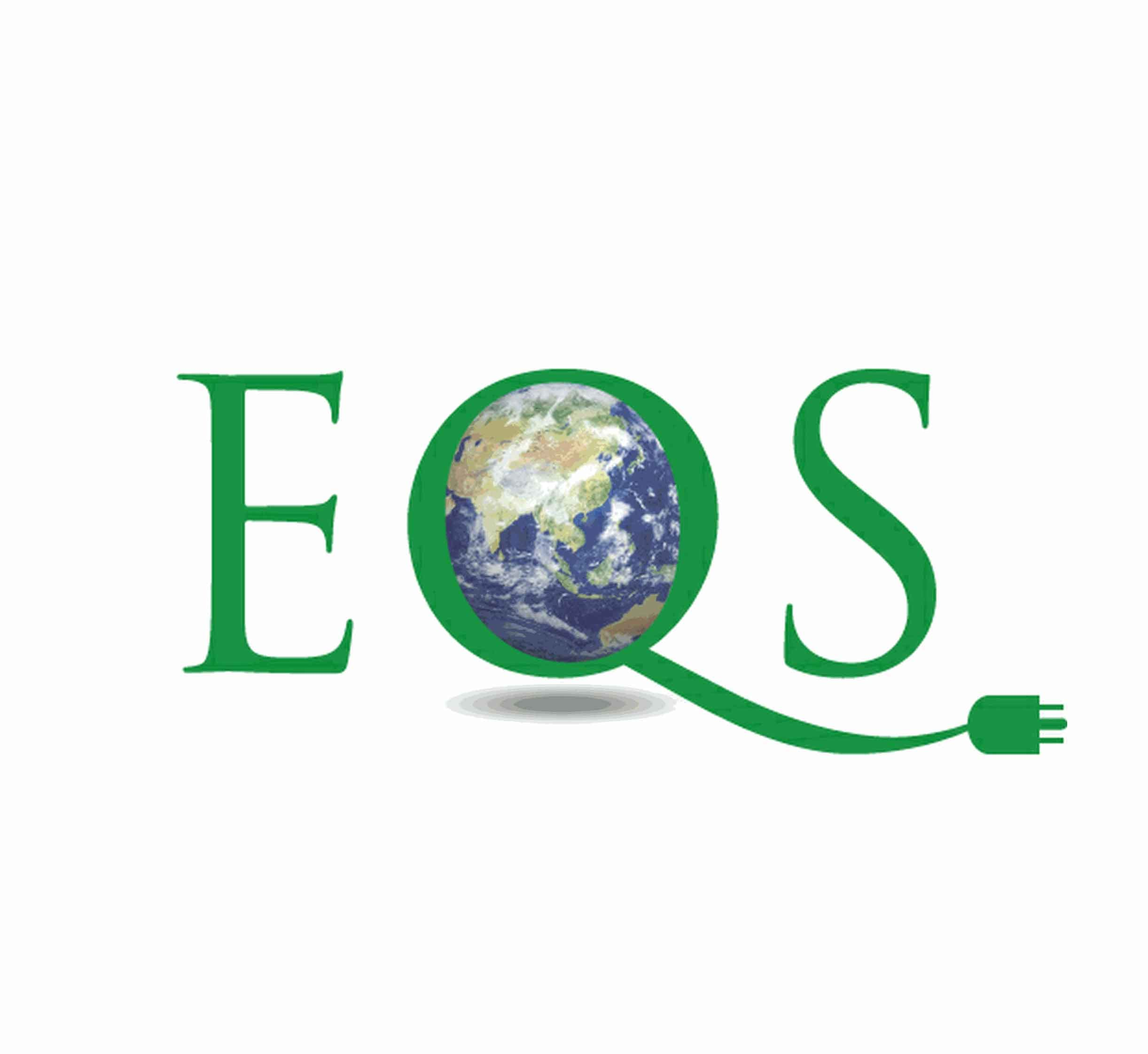 EQS, logo by New Paradigm graphic design, Santa Rosa, CA