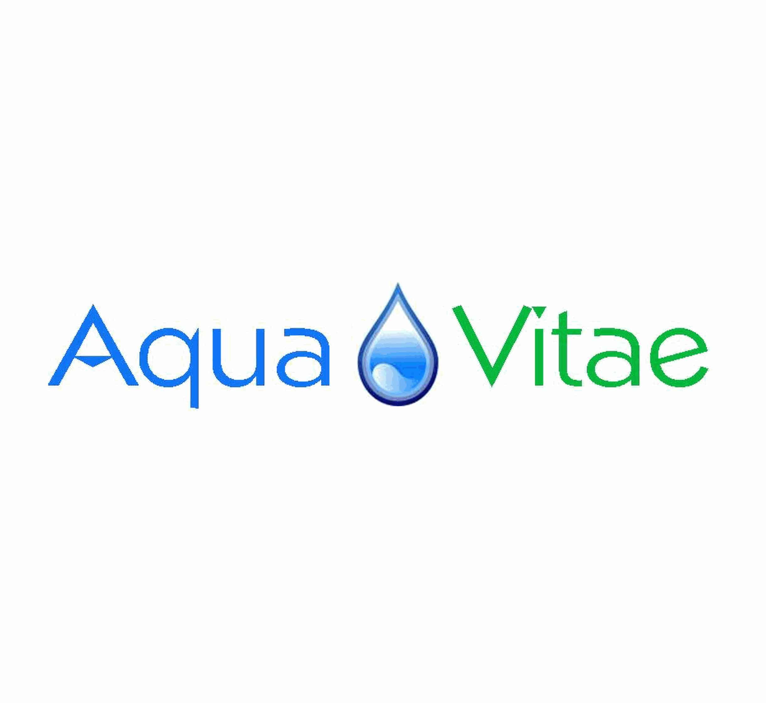 AquaVitae, logo by New Paradigm graphic design, Santa Rosa, CA