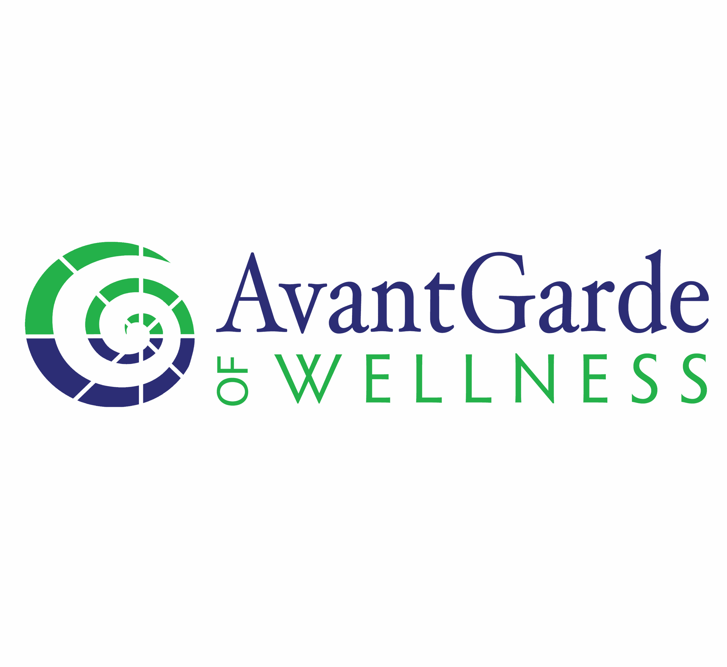AvantGarde of Wellness, logo by New Paradigm graphic design, Santa Rosa, CA