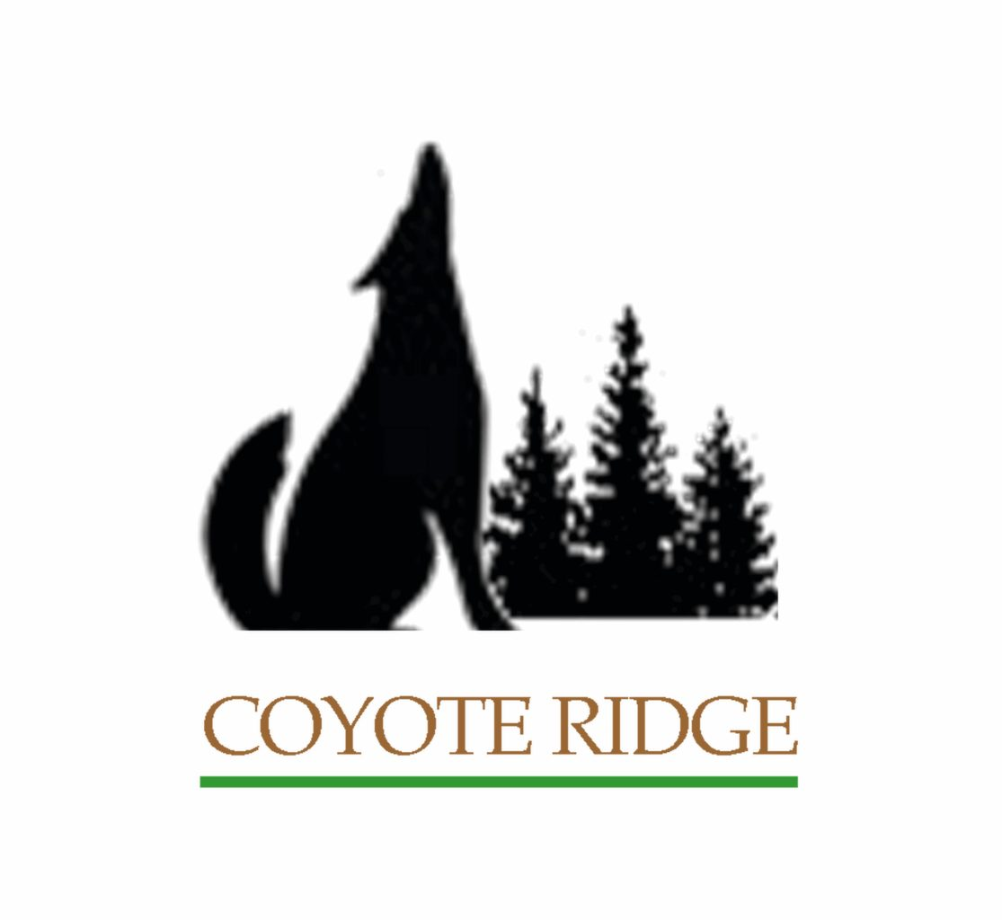 Coyote-Ridge, logo by New Paradigm graphic design, Santa Rosa, CA