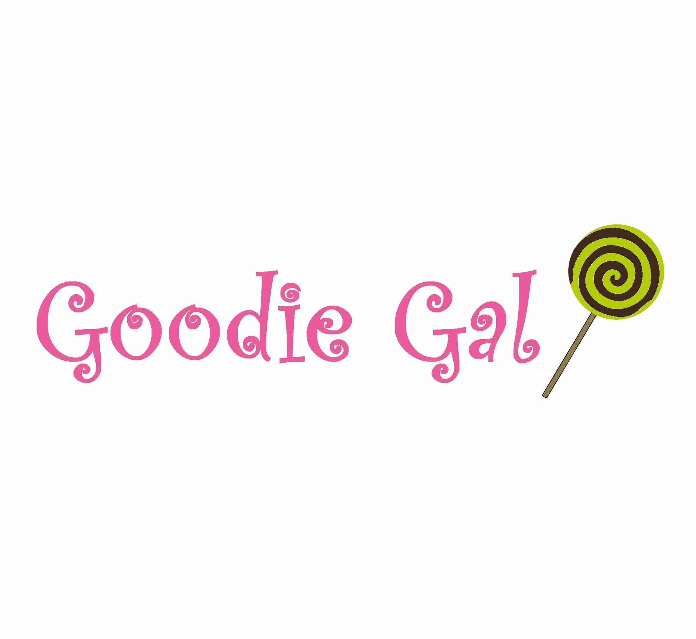 Goodie Gal, logo by New Paradigm graphic design, Santa Rosa, CA