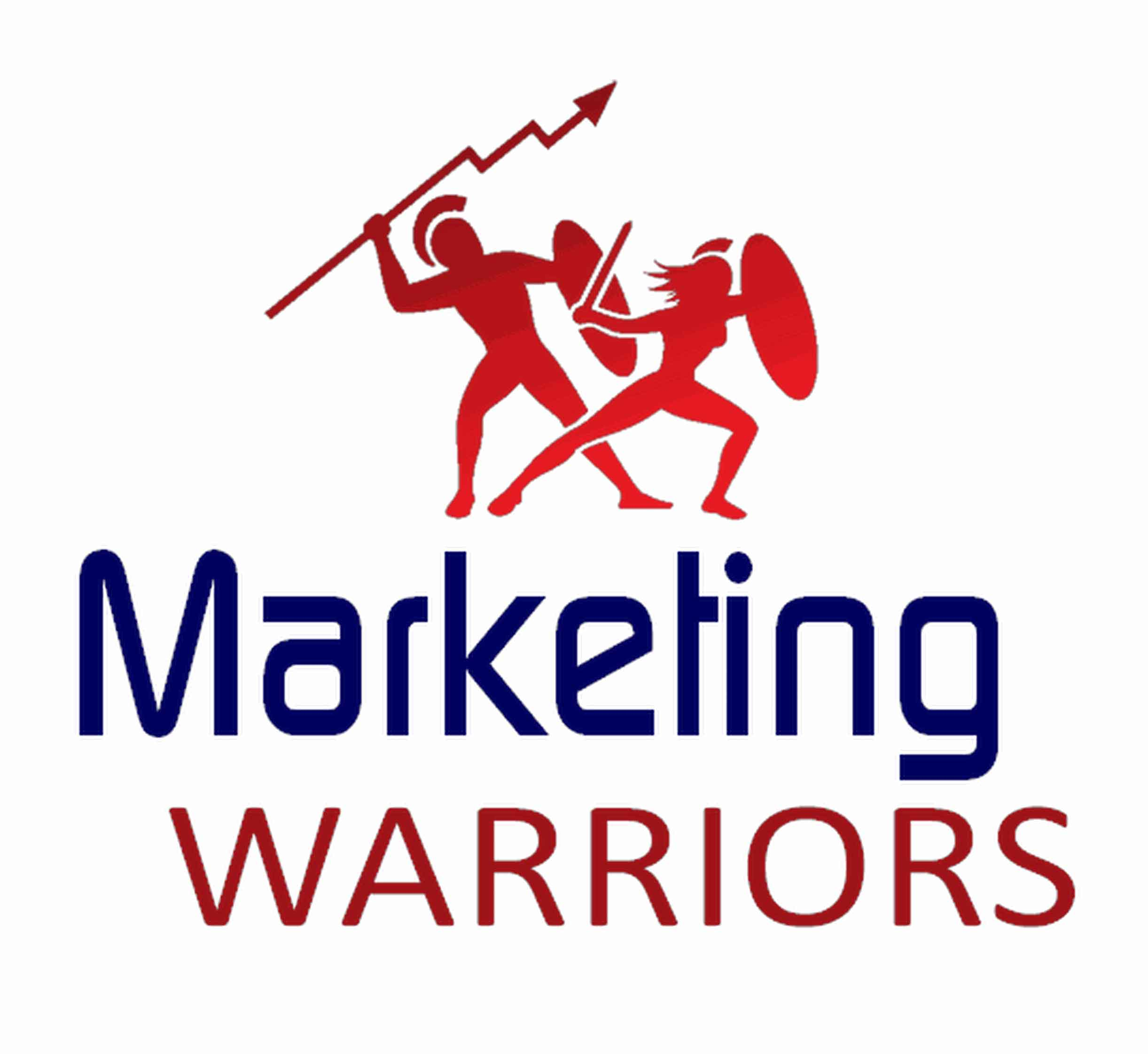 Marketing Warriors, logo by New Paradigm graphic design, Santa Rosa, CA
