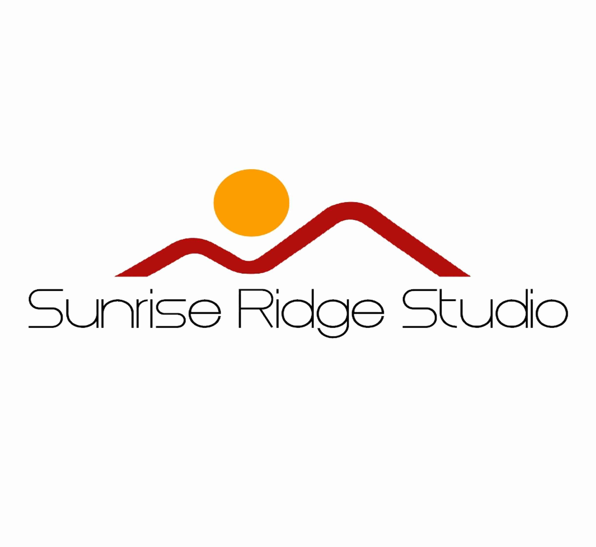 Sunrise Ridge Studio, logo by New Paradigm graphic design, Santa Rosa, CA