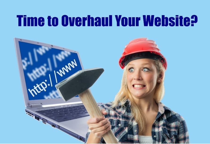 overhaul your website