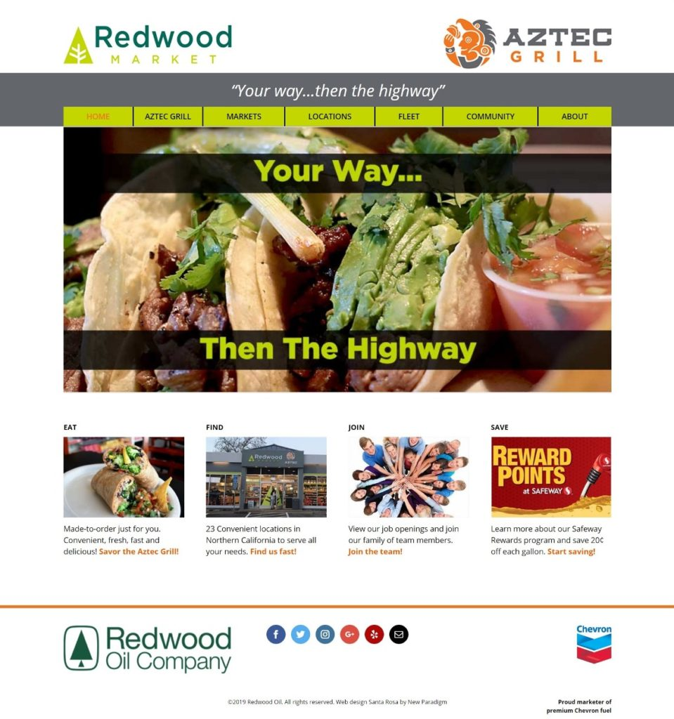 Redwood Oil Company