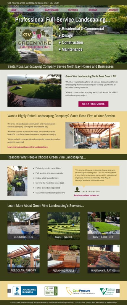 Green Vine Landscaping