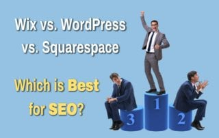 wix vs wordpress vs squarespace